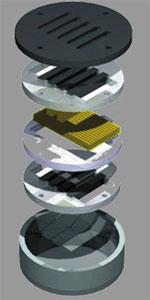 Конструкция в разобранном состоянии ВЧ-динамика A.R.T Adam