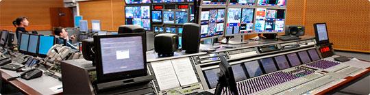 Консоль AVID System 5-B на Первом Канале