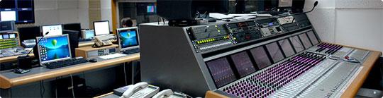 Консоль AVID System 5-B в студии НТВ