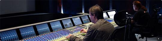 Консоль AVID System 5-B в студии RWS в Санкт-Петербурге