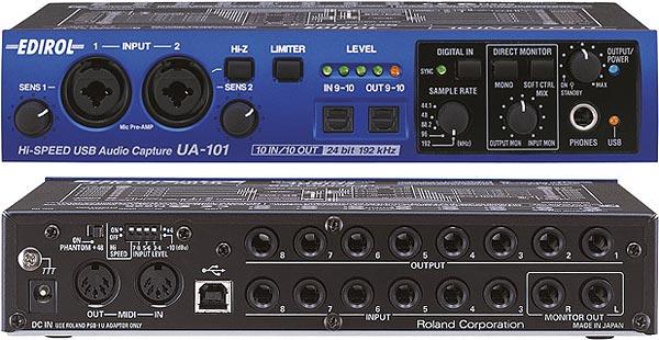 Купить Звуковые карты USB Edirol в интернет-магазине