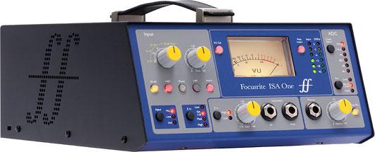 Классический аналоговый одноканальный микрофонный предусилитель ISA One Digital