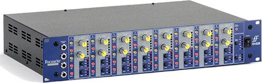 Восьмиканальный микрофонный предусилитель ISA828