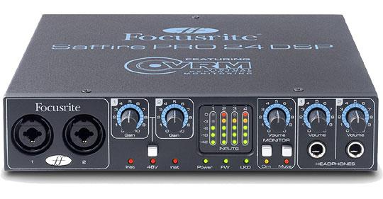 Многоканальный аудио интерфейс Saffire PRO 24 DSP