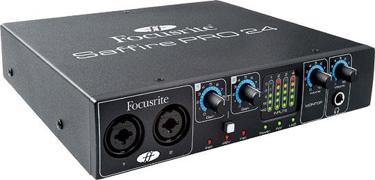 Многоканальный аудио интерфейс Saffire PRO 24