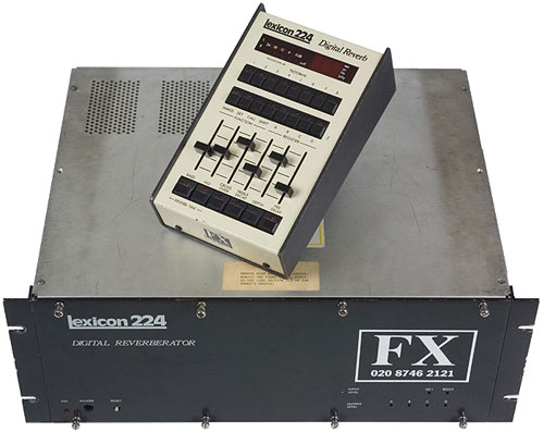 Цифровой ревербератор Lexicon 224 Digital Reverb