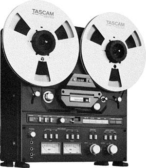 Двухдорожечный катушечный магнитофон Tascam