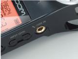 Гнездо входа дополнительного микрофона на диктофоне zoom h1/