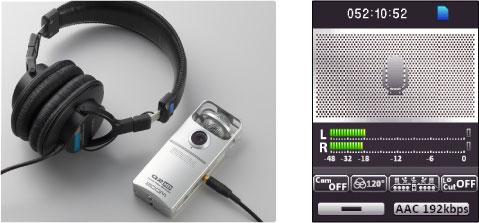 Использование ZOOM Q2HD как аудиорекордер высокого класса.