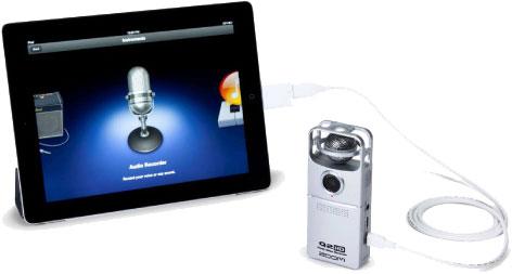 Использование ZOOM Q2HD как USB микрофон