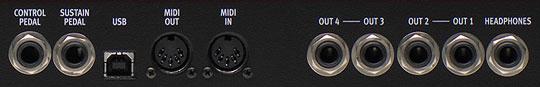Коммутационная панель синтезатора Clavia Nord Lead 4