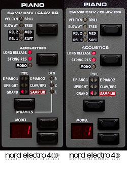 Фортепианная секция Clavia Nord Electro 4 SW73