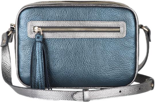 Кожаные сумки Avanzo Daziaro 018-1016BLGR