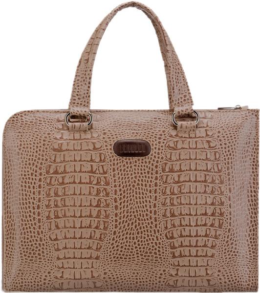 Кожаные сумки Brialdi AISA-croco-cappuccino кожаные сумки brialdi concord br