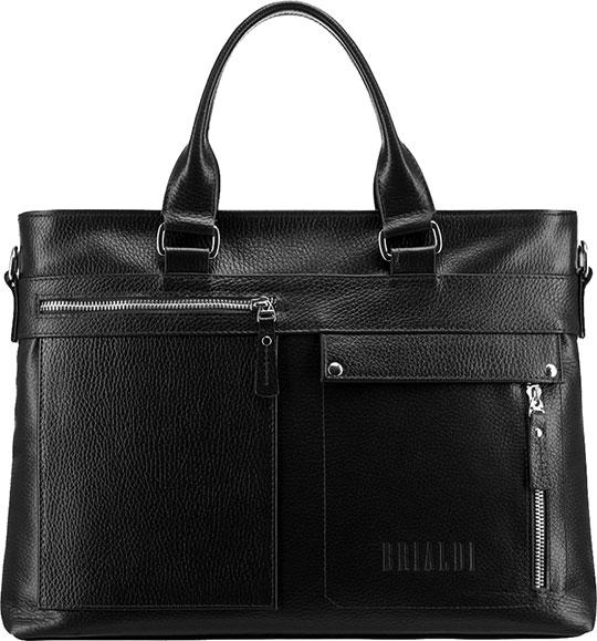 Кожаные сумки Brialdi BRESSO-relief-bl