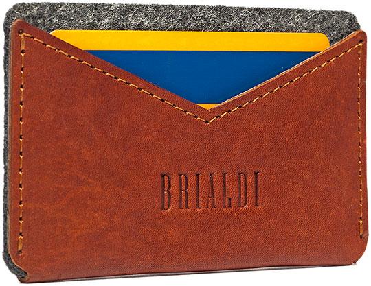 Визитницы и кредитницы Brialdi CEFALU-red