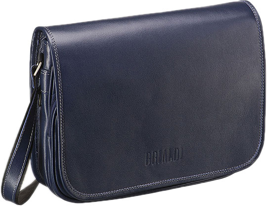 Кожаные сумки Brialdi CAMBRIDGE-navi цена и фото
