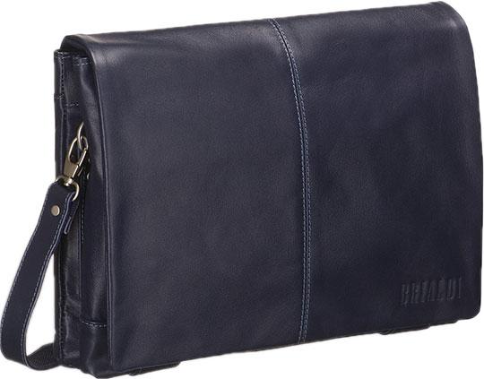 Купить со скидкой Кожаные сумки Brialdi CHELSEA-navi
