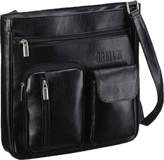 Кожаные сумки Brialdi CHESTER-bl