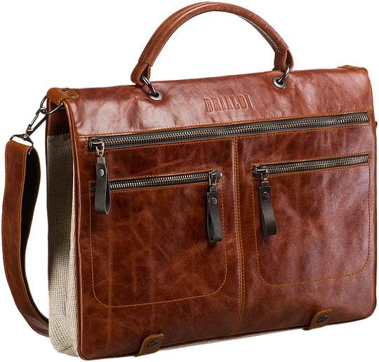 купить Кожаные сумки Brialdi DUDLEY-red по цене 8760 рублей