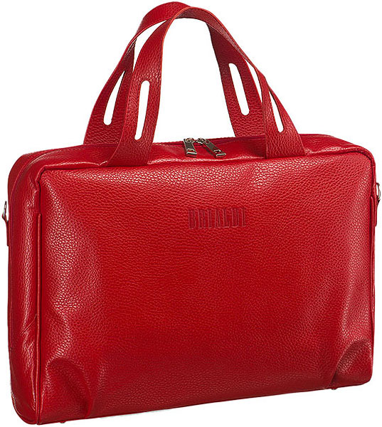 купить Кожаные сумки Brialdi ELCHE-relief-red по цене 7960 рублей