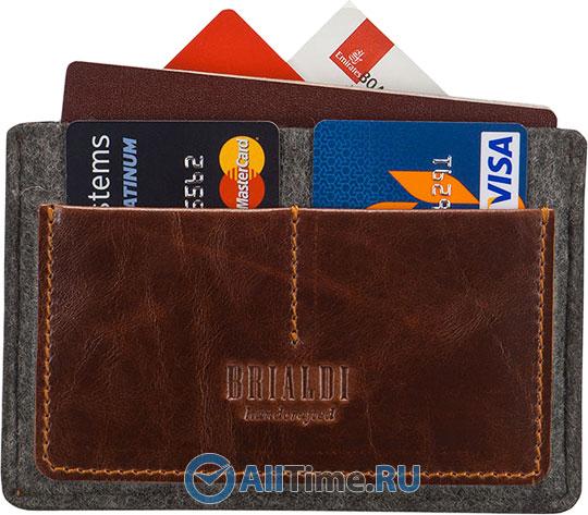 Кошельки бумажники и портмоне Brialdi HENNA-red