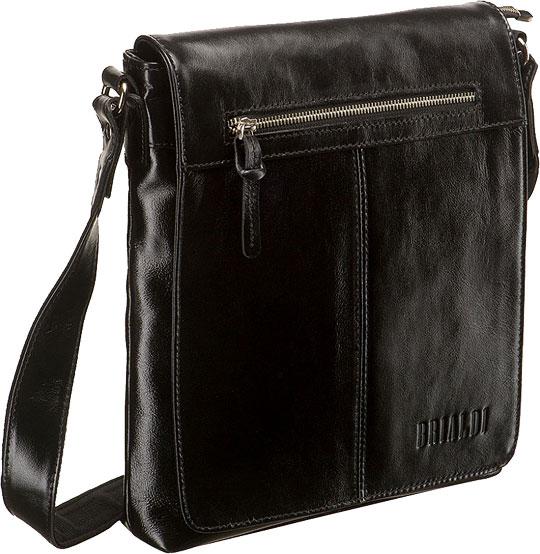 Кожаные сумки Brialdi LIVORNO-shiny-bl