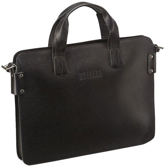 купить Кожаные сумки Brialdi LOANO-bl по цене 8950 рублей