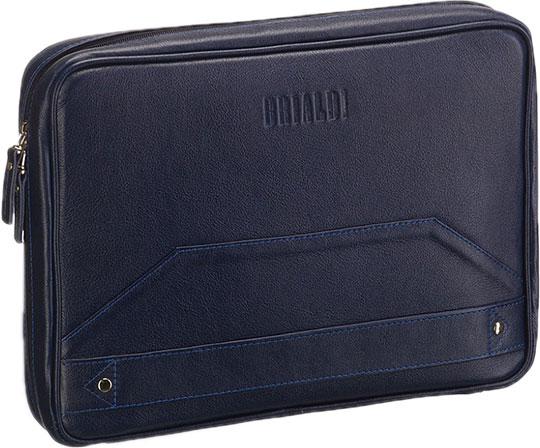 Кожаные сумки Brialdi LANDER-navi сумка через плечо brialdi business norman norman shiny black