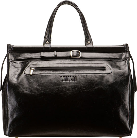 Кожаные сумки Brialdi MADRID-shiny-bl