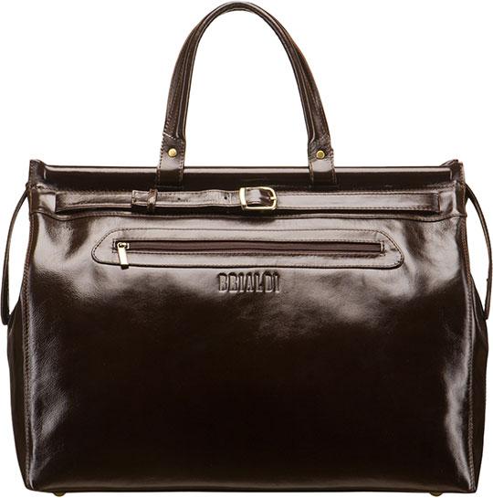 Кожаные сумки Brialdi MADRID-shiny-br сумка через плечо brialdi business norman norman shiny black