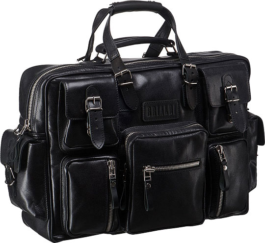Кожаные сумки Brialdi NORFOLK-bl от AllTime