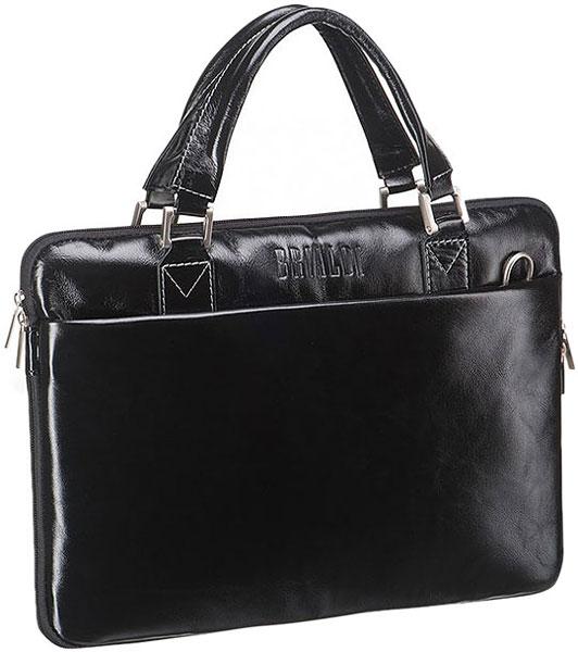 Купить со скидкой Кожаные сумки Brialdi OSTIN-bl