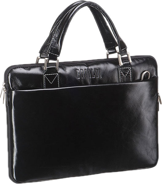 Кожаные сумки Brialdi OSTIN-shiny-bl сумка через плечо brialdi business norman norman shiny black