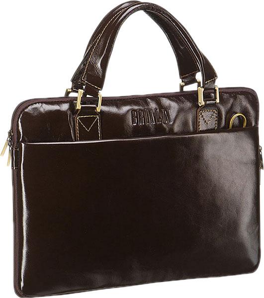 Кожаные сумки Brialdi OSTIN-shiny-br сумка через плечо brialdi business norman norman shiny black