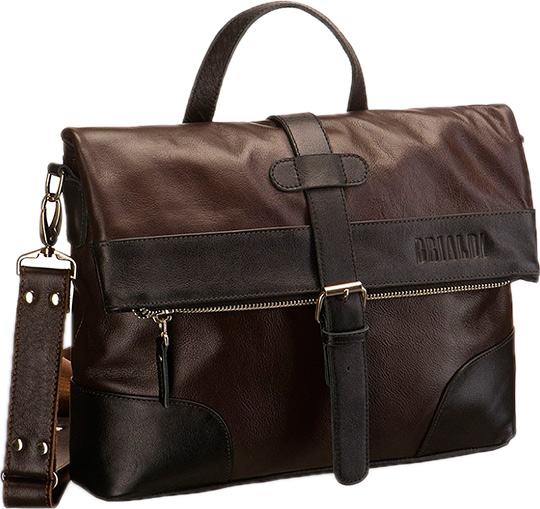 Кожаные сумки Brialdi SOMO-br цена и фото