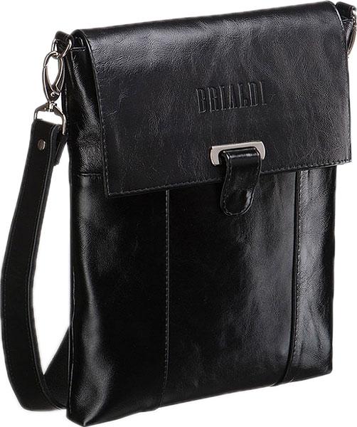 Кожаные сумки Brialdi TORONTO-shiny-bl сумка через плечо brialdi business norman norman shiny black