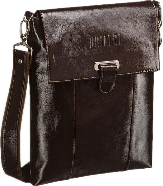 Кожаные сумки Brialdi TORONTO-shiny-br сумка через плечо brialdi business norman norman shiny black