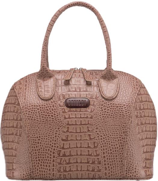 Кожаные сумки Brialdi VILLENA-croco-cappuccino
