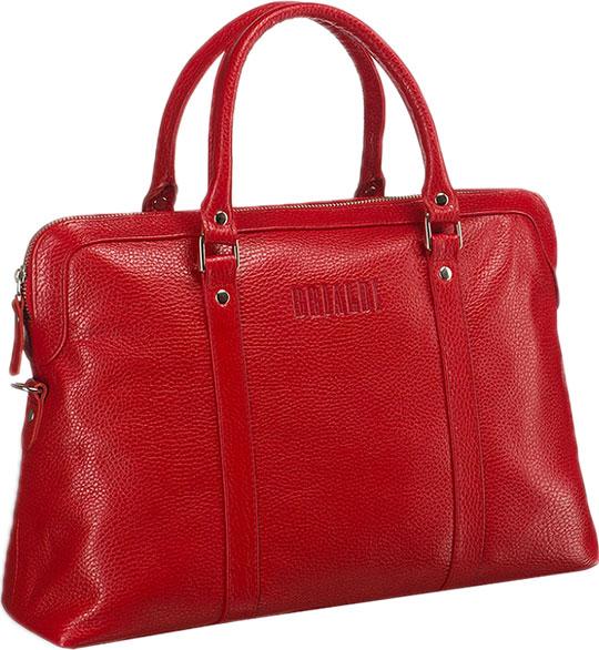 Кожаные сумки Brialdi VALENCIA-relief-red кожаные сумки brialdi valencia bl