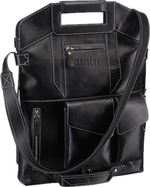 Кожаные сумки Brialdi VULCANO-bl сумка через плечо brialdi business norman norman shiny black
