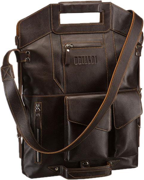Кожаные сумки Brialdi VULCANO-br сумка через плечо brialdi business norman norman shiny black