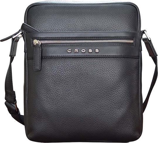 Кожаные сумки Cross AC021113-1 кошелёк cross nueva fv кожа наппа фактурная серый 11 х 8 2 х 1см 1099830