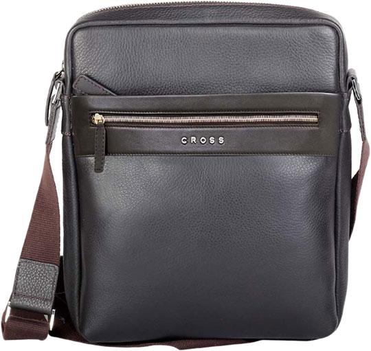 Кожаные сумки Cross AC021113-2 кошелёк cross nueva fv кожа наппа фактурная серый 11 х 8 2 х 1см 1099830