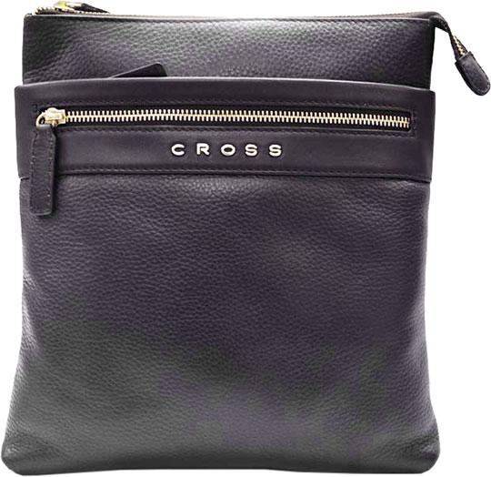 Кожаные сумки Cross AC021114-2 кошелёк cross nueva fv кожа наппа фактурная серый 11 х 8 2 х 1см 1099830