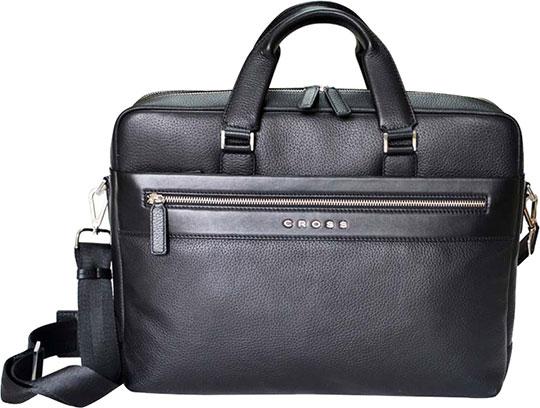 Кожаные сумки Cross AC021115-1 кошелёк cross nueva fv кожа наппа фактурная серый 11 х 8 2 х 1см 1099830