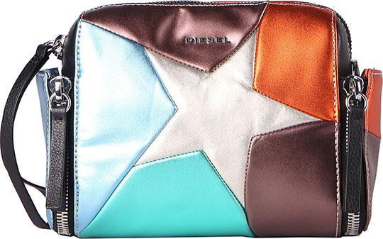 Кожаные сумки Diesel X05228-PR213/H4389 сумка женская diesel цвет оранжевый x03891 pr013 page 7