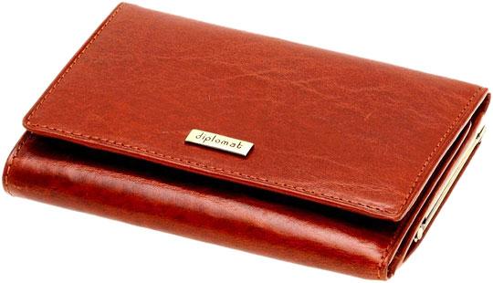 Кошельки бумажники и портмоне Diplomat SK-004-1-2C кошельки бумажники и портмоне mano 20103 setru pink cerise