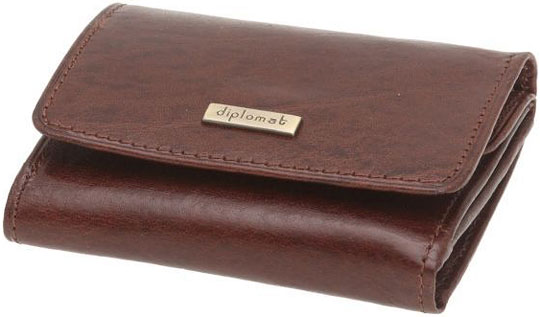 цена  Кошельки бумажники и портмоне Diplomat SK-005-1-3R  онлайн в 2017 году