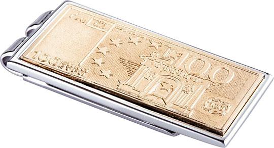 Зажимы для денег Diplomat EURO-100
